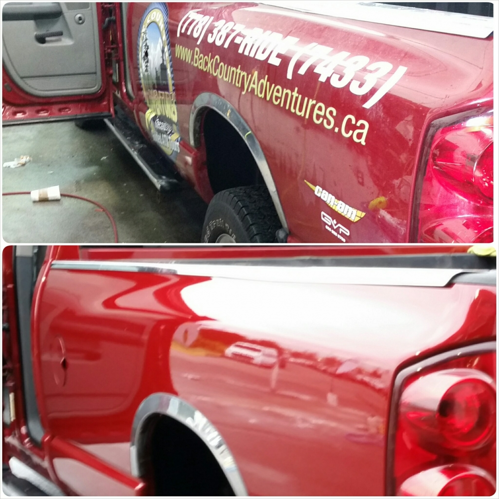 Dodge Ram Decal Removal