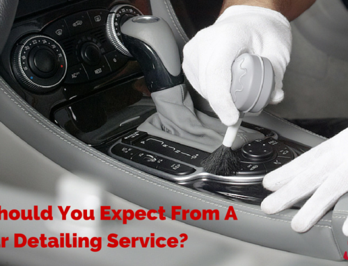 What Should You Expect From A Car Detailing Service?