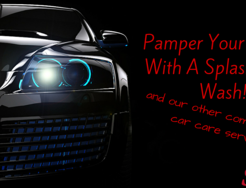 Pamper Your Vehicle With A Splashes Car Wash